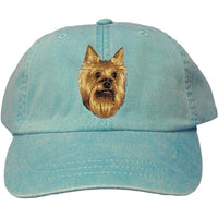 Yorkshire Terrier Embroidered Baseball Caps