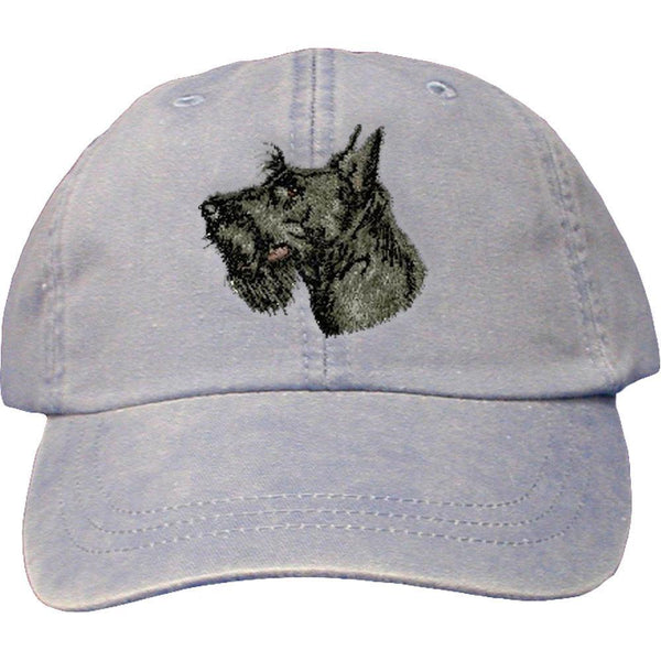 c02cfbc7a5a Scottish Terrier Embroidered Baseball Caps