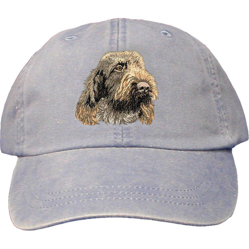 Embroidered Baseball Caps Light Blue  Spinone Italiano DV249
