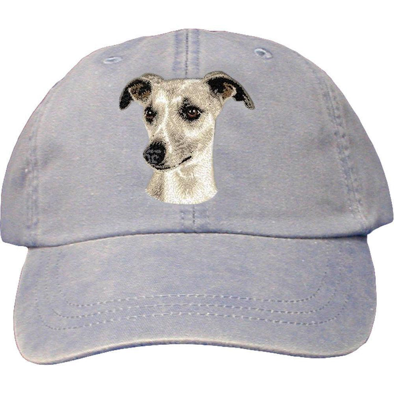 Embroidered Baseball Caps Light Blue  Whippet D65