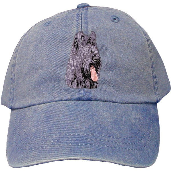 Embroidered Baseball Caps Denim  Briard D72