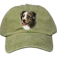 Australian Shepherd Embroidered Baseball Cap