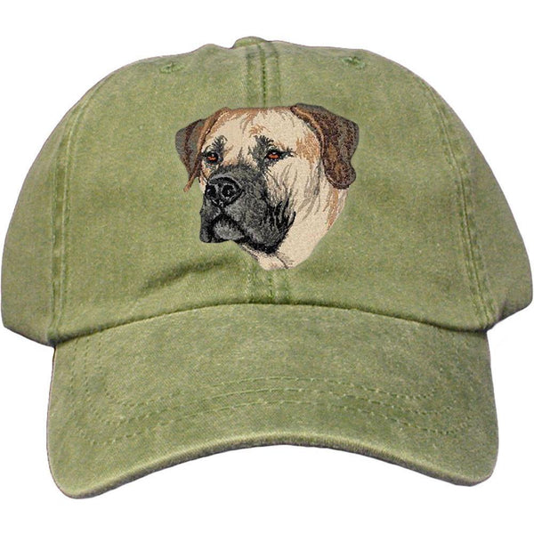 Embroidered Baseball Caps Green  Boerboel DV209