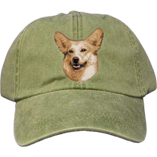Pembroke Welsh Corgi Embroidered Baseball Caps  2ef03b1a15a9
