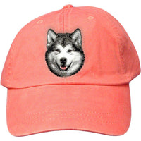 Alaskan Malamute Embroidered Baseball Cap