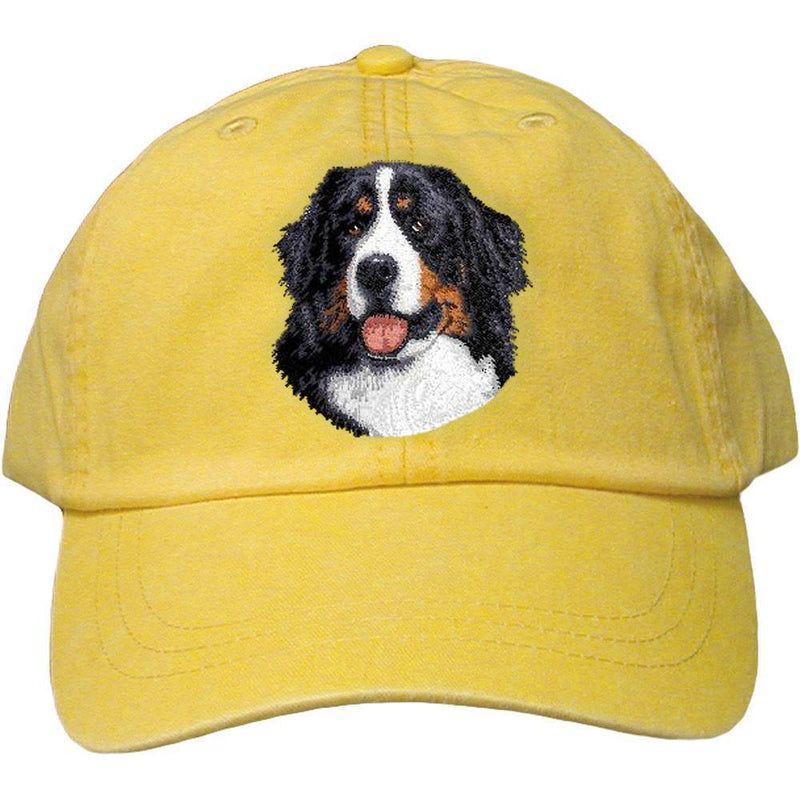 5cd711e7d6c Bernese Mountain Dog Embroidered Baseball Cap