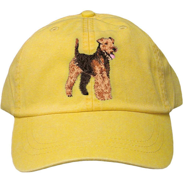 Welsh Terrier Embroidered Baseball Caps Akc Shop
