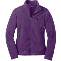 Beauceron Embroidered Ladies Fleece Jackets