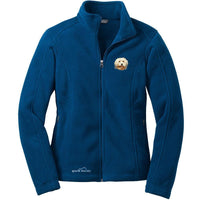 Havanese Embroidered Ladies Fleece Jackets