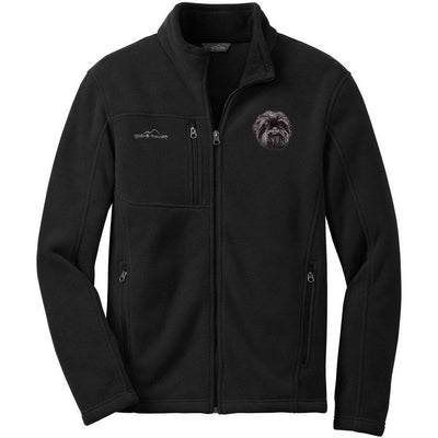 Affenpinscher Mens Fleece Jacket