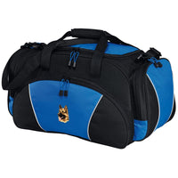 German Shepherd Dog Embroidered Duffel Bags