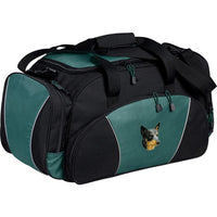 Australian Cattle Dog Embroidered Duffel Bags