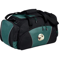 Great Pyrenees Embroidered Duffel Bags