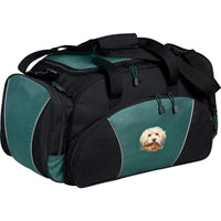 Havanese Embroidered Duffel Bags