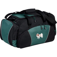 Japanese Chin Embroidered Duffel Bags