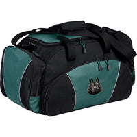 Schipperke Embroidered Duffel Bags