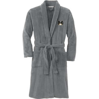 Papillon Plush Microfleece Robe