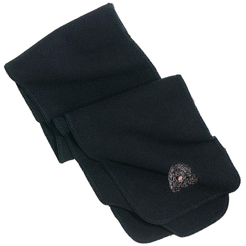 Embroidered Scarves Black  Puli D149