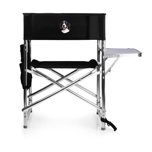 Bernese Mountain Dog Embroidered Sports Chair