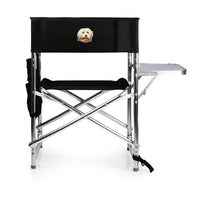 Havanese Embroidered Sports Chair