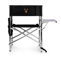 Miniature Pinscher Embroidered Sports Chair