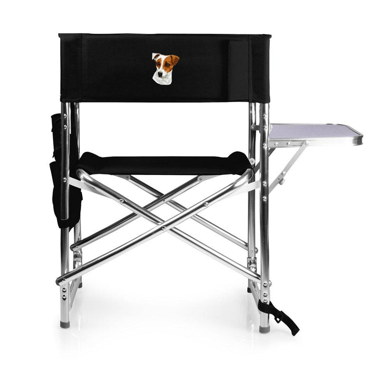 Parson Russell Terrier Embroidered Sports Chair