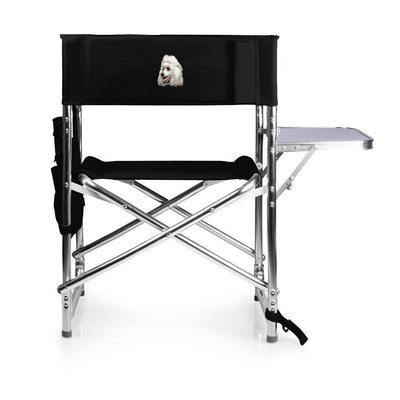 Poodle Embroidered Sports Chair