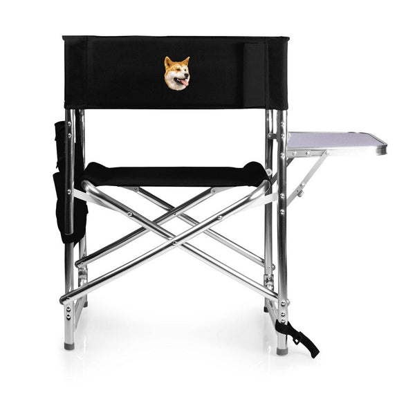 Shiba Inu Embroidered Sports Chair