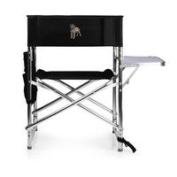 Wirehaired Pointing Griffon Embroidered Sports Chair