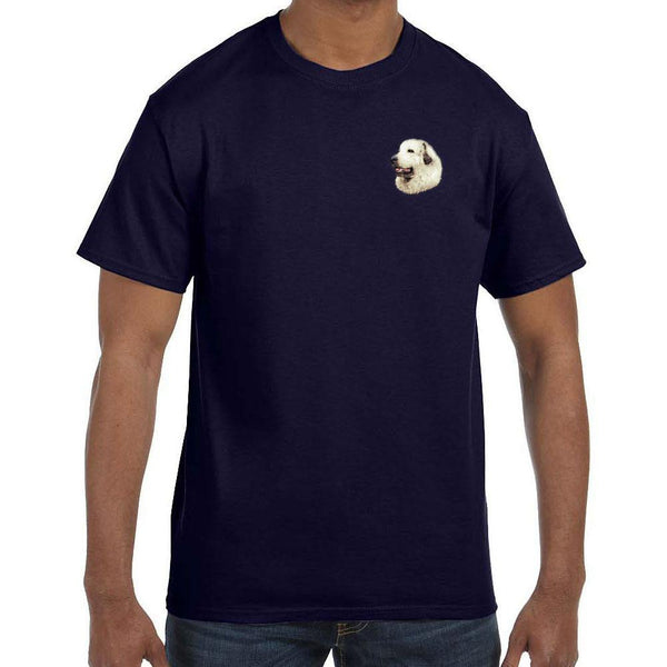 Great Pyrenees Embroidered Mens T-Shirts