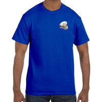Bedlington Terrier Embroidered Mens T-Shirts