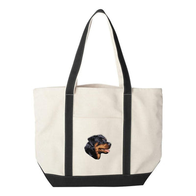 Rottweiler Embroidered Tote Bag