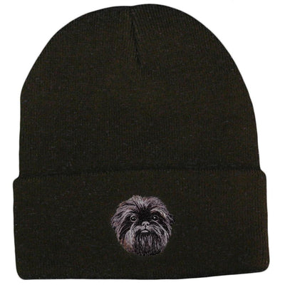 Affenpinscher Embroidered Beanies