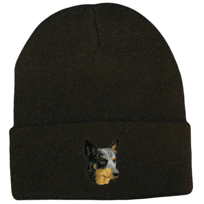 Australian Cattle Dog Embroidered Beanies