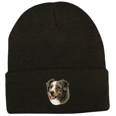 Australian Shepherd Embroidered Beanies