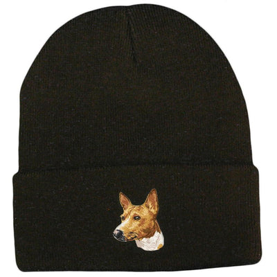Basenji Embroidered Beanies