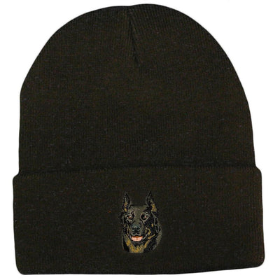 Beauceron Embroidered Beanies