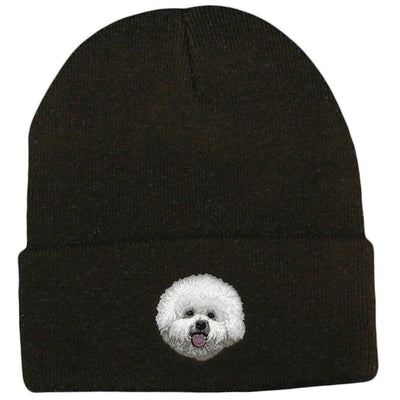 Bichon Frise Embroidered Beanies
