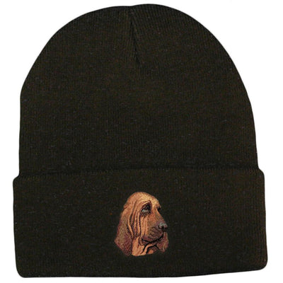 Bloodhound Embroidered Beanies