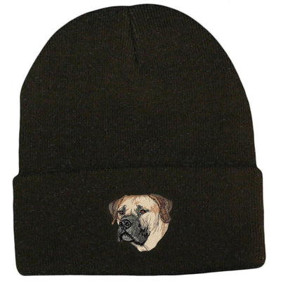 Boerboel Embroidered Beanies