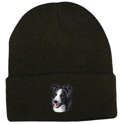 Border Collie Embroidered Beanies