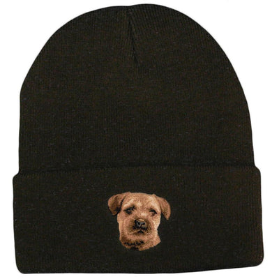 Border Terrier Embroidered Beanies