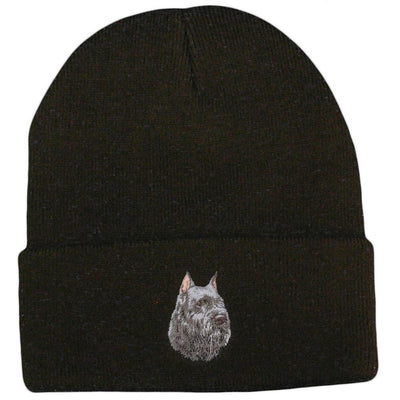 Bouvier des Flandres Embroidered Beanies