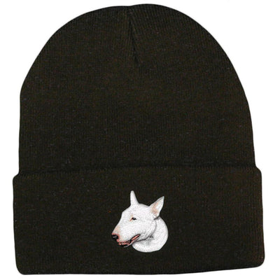 Bull Terrier Embroidered Beanies