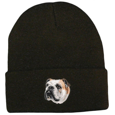 Bulldog Embroidered Beanies