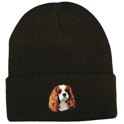 Cavalier King Charles Spaniel Embroidered Beanies