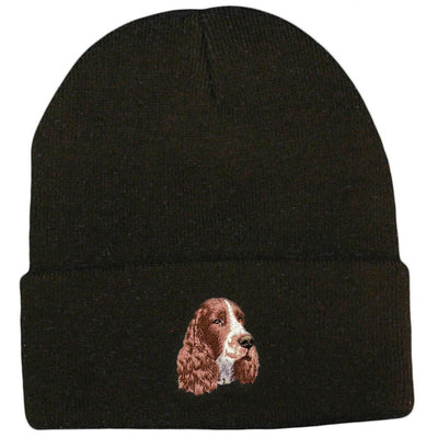 English Springer Spaniel Embroidered Beanies