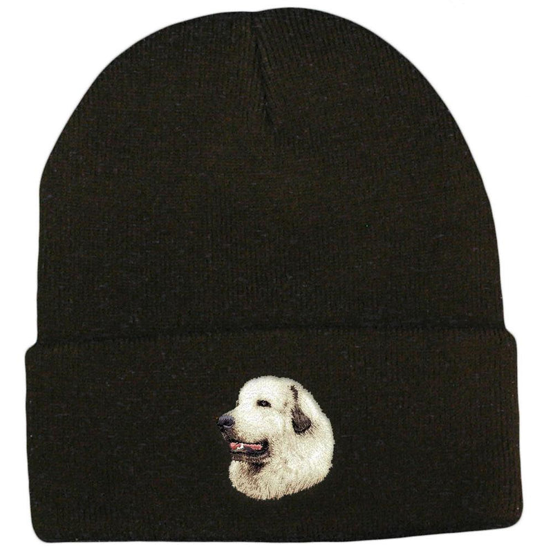 Great Pyrenees Embroidered Beanies