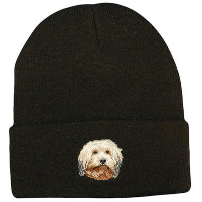 Havanese Embroidered Beanies