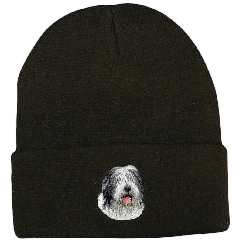 Old English Sheepdog Embroidered Beanies